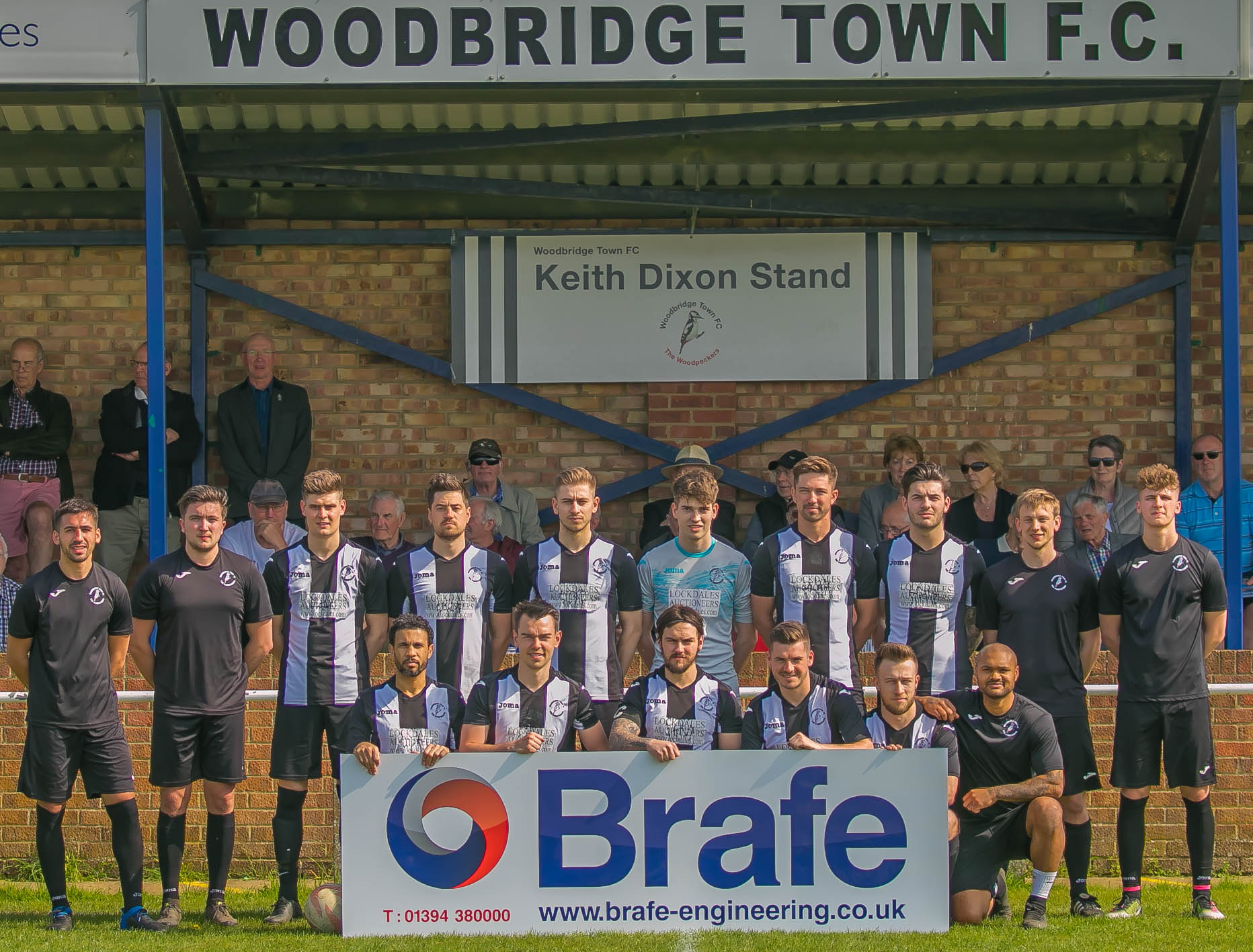 Brafe is proud to continue to sponsor WTFC
